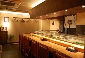銀座「寿司割烹植田」