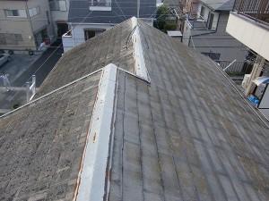 改修前 屋根写真